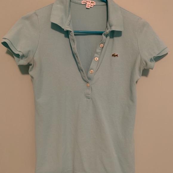 Lacoste Tops - Lacoste blue polo